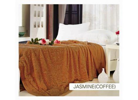 Плед Arya Jasmine coffee бежевый