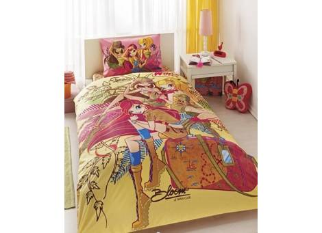 Постельное белье TAC Disney Winx Group Nature Love (простынь 180х260 см.)